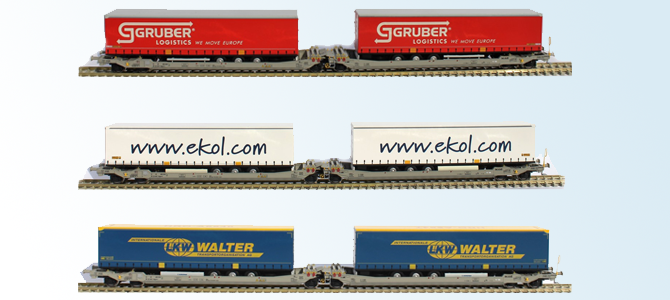 3 new Twin-Cars & 2 New DB Schenker locomotives Mak 64/6500