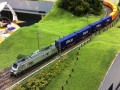 Rocky-Rail HSL VIA RR037025 + containertrain 2