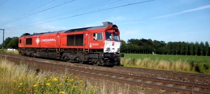 Crossrail DE6311 solo 31-07-15