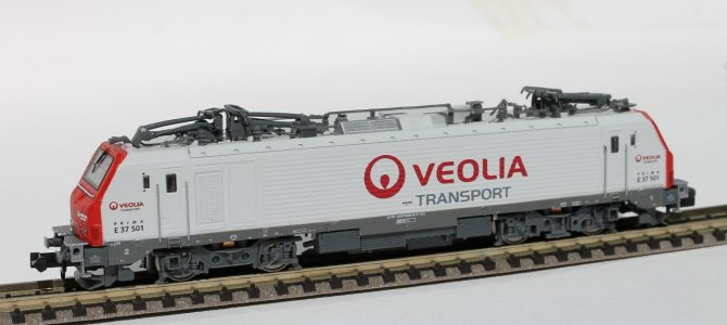 Limited run of BB37000 Alstom Prima VEOLIA (N scale)