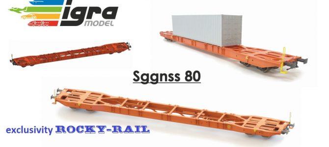 IGRA MODEL Sggnss 80 HO scale
