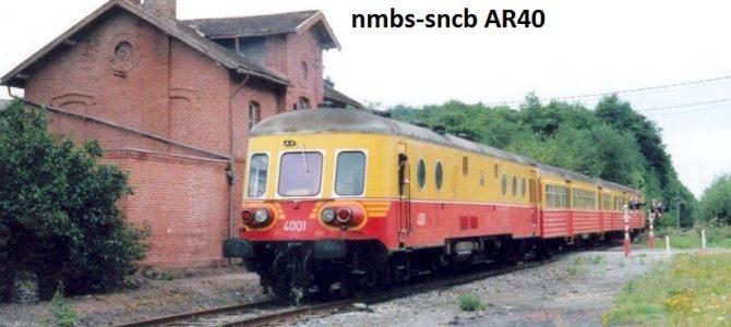 Dreiteiliger Dieseltriebzug der SNCB