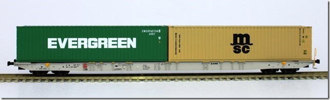 2 new Igra Model container cars type Sggnss 80